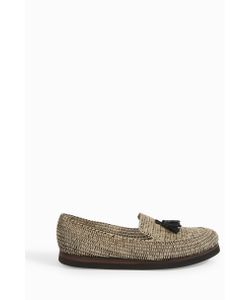 Casablanca | Mens Raffia Tassel Loafers Boutique1