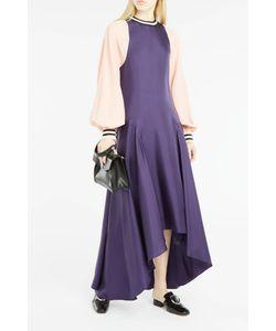 Roksanda | Womens Varsa Contrast-Sleeve Dress Boutique1