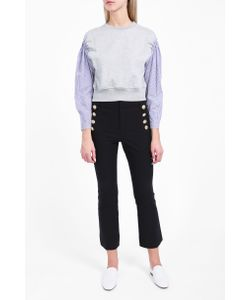 Derek Lam 10 Crosby | Womens Cropped Sailor Trousers Boutique1