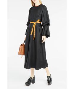 Roksanda | Womens Ophelia Contrast-Trim Dress Boutique1