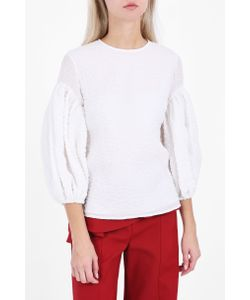 Rosie Assoulin | Womens Puff Sleeve Top Boutique1