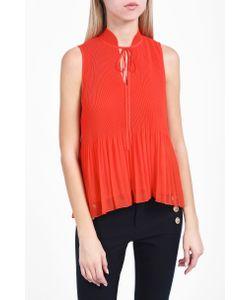Derek Lam 10 Crosby | Womens Sleeveless Pleated Blouse Boutique1