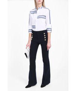 Derek Lam 10 Crosby | Womens Sailor Button Trousers Boutique1