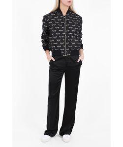 Markus Lupfer | Womens Bumble Jacquard Bomber Jacket Boutique1