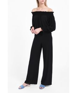 Norma Kamali | Womens Straight Leg Trousers Boutique1