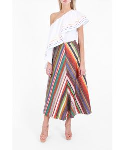 Rosie Assoulin | Womens Melted Rainbow A-Line Skirt Boutique1
