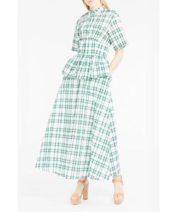 Rosie Assoulin | Womens Gingham Midi Dress Boutique1