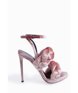 Marco de Vincenzo | Womens Velvet Rope Sandals Boutique1