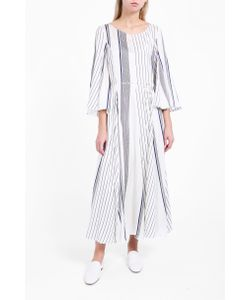 The Row   Womens Selar Striped Dress Boutique1