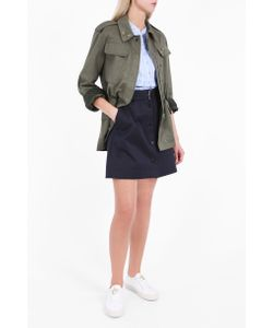 Markus Lupfer | Womens Army Cotton Drill Parka Boutique1
