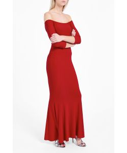 Norma Kamali | Womens Off-Shoulder Fishtail Gown Boutique1