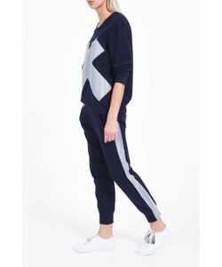 Norma Kamali | Womens Striped Jogging Trousers Boutique1