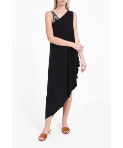 Norma Kamali | Womens One-Shoulder Diagonal Tunic Boutique1
