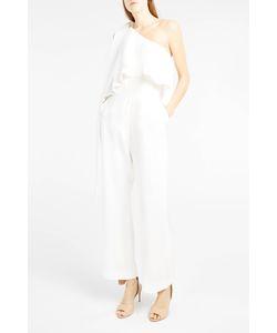 Elie Saab | Womens Tie-Shoulder Jumpsuit Boutique1
