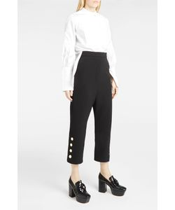 Ellery | Womens Low Crotch Cropped Trouser Boutique1