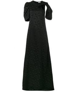 Céline   Cutout Print Gown