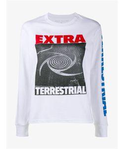 Ashley Williams   Extra Terrestrial Print Sweatshirt