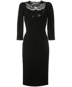 Dolce & Gabbana   Lace-Insert Fitted Dress