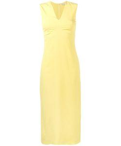 Emilia Wickstead   V-Neck Midi Dress