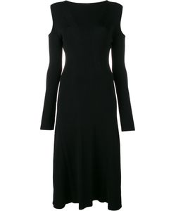 Barbara Casasola | Ribbed Cold Shoulder Dress
