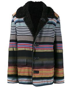 James Long | Striped Boxy Coat