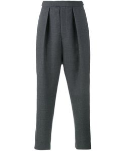 Curieux | Pleated Tapered Trousers