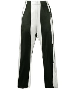 Ann Demeulemeester | Stripe Cropped Trousers