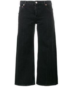Balenciaga   Cropped Rockabilly Jeans