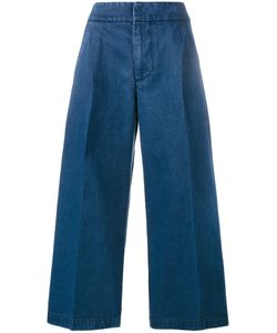 Marni | Cropped Wide-Leg Jeans