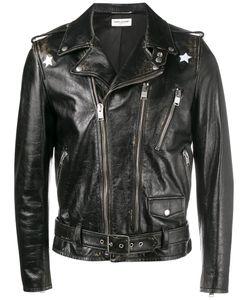 Saint Laurent | Distressed Biker Jacket