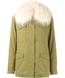 Yves Salomon | Raccoon Fur Trimmed Parka Jacket