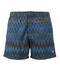 Missoni | Zigzag Print Swim Shorts