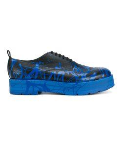 Comme Des Garçons Homme Plus | Paint Splatter Derby Shoes