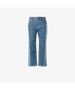 Stella McCartney   Frayed Cropped Jeans
