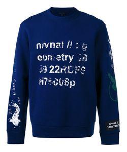 Lanvin | Semantics Print Sweatshirt