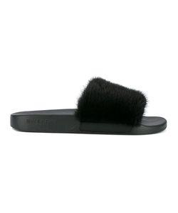 Givenchy | Mink Fur Slides