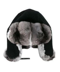 Inverni | Chinchilla Fur-Lined Trapper Hat