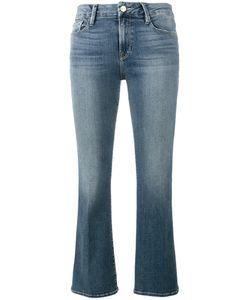 Frame Denim   Fla Cropped Jeans