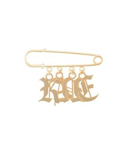 Christopher Kane | Charm Safety-Pin Brooch