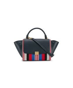 Céline | Woven Trapeze Shoulder Bag