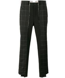 Comme Des Garçons Homme Plus | Check Panel Trousers