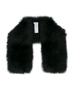 Inverni | Knitted Fox Fur Scarf