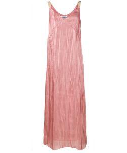 WALK OF SHAME   Crushed Silk Slip Dress