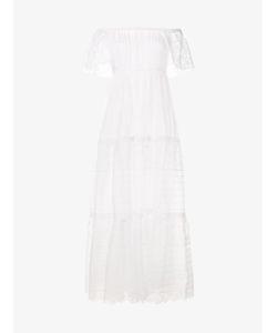Valentino   Sangallo-Lace Tie Dress