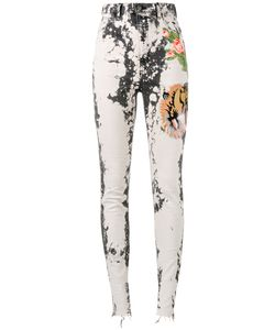 Gucci | Embroide Skinny Jeans