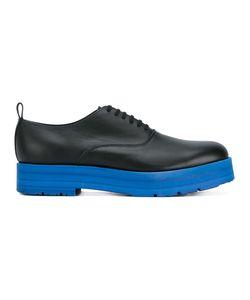 Comme Des Garçons Homme Plus | Contrast Sole Stacked Oxford Shoes