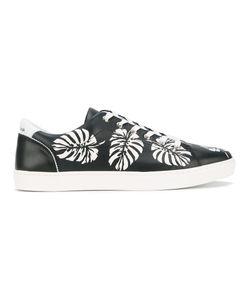 Dolce & Gabbana | Palm Leaf Print Sneakers