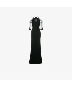 Roland Mouret   Carrington Cold-Shoulder Gown