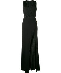 Balmain   High Slit Gown