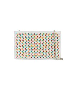 CHRISTIAN LOUBOUTIN | Spike Embellished Clutch Bag